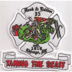 Chicago Ladder 35 Patch