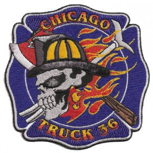 Chicago Truck 36 Patch