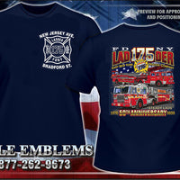 FDNY Ladder 175 East New York Truckin' Company Tee