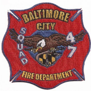 Baltimore City Squad 47 Patch
