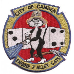 Camden, NJ Engine 7 Alley Cats Patch