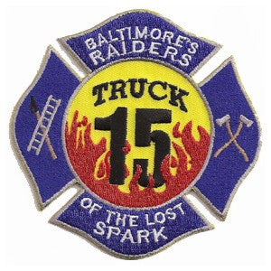 Baltimore City Truck 15 Patch