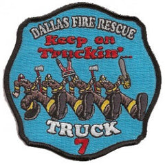 Dallas Truck 7 Patch