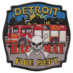 Detroit Haz Mat Patch