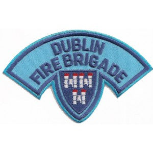 Dublin Fire Brigade  Blue Uniform Patch
