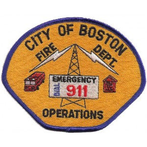 Boston Fire Communications Patch