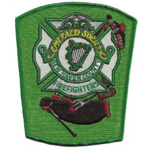 New Haven, CT Pipes & Drums Patch