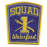 Waterford, CT Squad 1 Patch