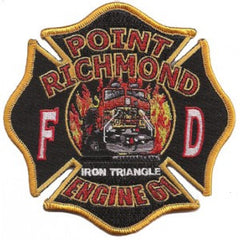 Richmond, CA Station 61 Patch