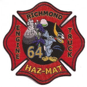 Richmond, CA Station 64 Haz Mat Patch