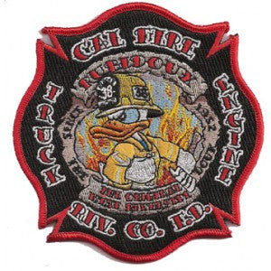 Riverside, CA Station 38 Patch