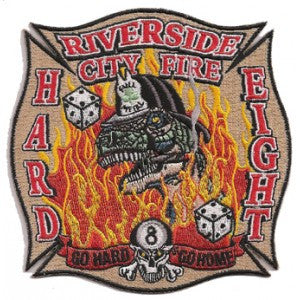 Riverside, CA Station 8 Patch