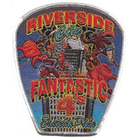 Riverside City, CA Station 4 Patch