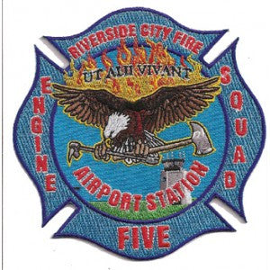 Riverside, City, CA Station 5 Patch