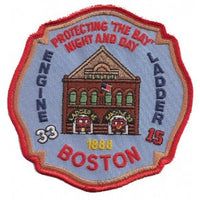 Boston Engine 33  Fenway Park Fire Patch