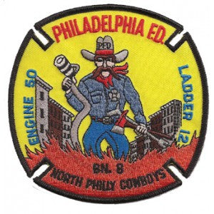Philadelphia Engine 50 Truck 12 Patch