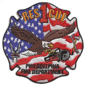Philadelphia Rescue 1 Patch
