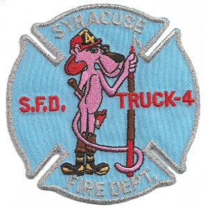 Syracuse Truck 4 Patch