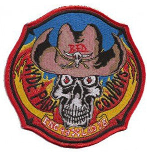 Boston E48 L28 Hyde Park Cowboys Patch