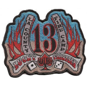 LA COUNTY FIRE CAMP 13 MALIBU  Patch