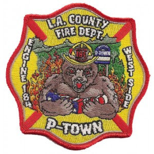 LA County Station 184 Patch