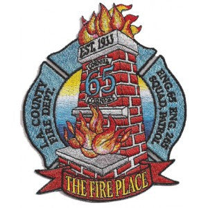 LA County Station 65 Patch