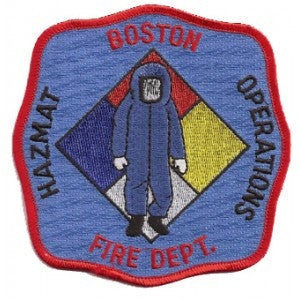 Boston Haz Mat Patch