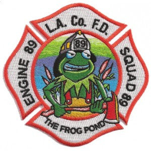 LA County Station 89 Patch