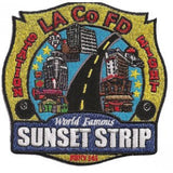 LA County Station 8 Sunset Strip Patch