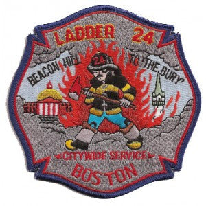Boston Ladder 24 Citywide Service Patch