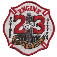 "Baltimore City E-23 ""Ready To Roll"" Patch"