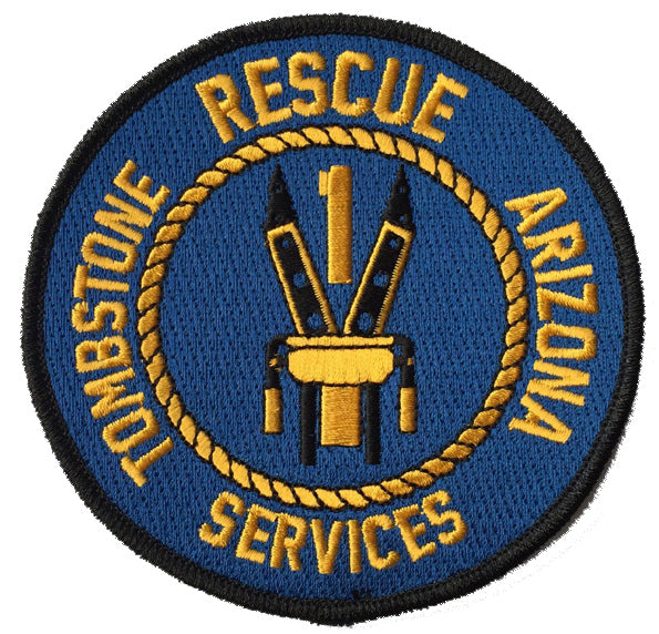 Tombstone, Arizona Rescue Services Patch