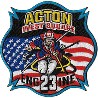 Acton, MA Engine 23 West Square Fire Patch
