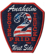 Anaheim, CA Station 2 Patch