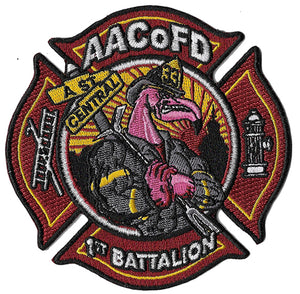 "Anne Arundel County, MD Station 33/Batt. 1 ""A St. & Central"" Patch"