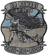 Ar Ramadi, Iraq OIF 06-08 Crash Rescue Fire Patch