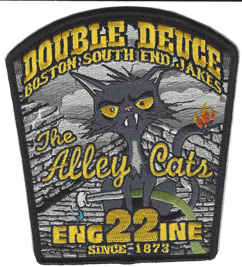 Boston Engine 22 Alley Cats Patch