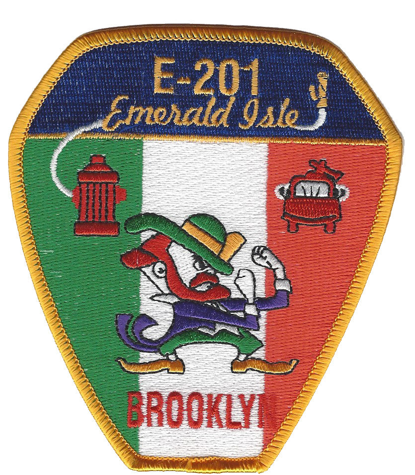 New York City  E-201 Brooklyn Emerald Isle Patch