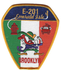 New York City  E-201 BROOKLYN EMERALD ISLE FIRE PATCH