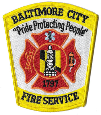 Baltimore City Fire Department Patch