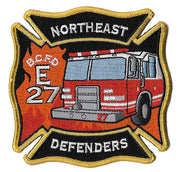 Baltimore City Engine 27 Northeast Defenders Patch