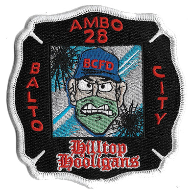 Baltimore City Medic 28 Hilltop Hooligans EMS Patch