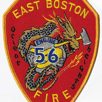 Boston Engine 56 Orient Heights Fire Patch