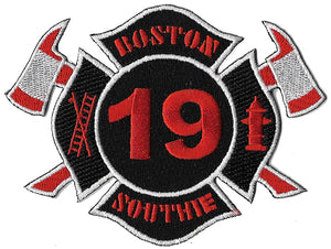 Boston Ladder 19 Southie Fire Patch