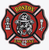 Boston Engine 42 Special Operations Red Fire Patch