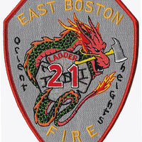 Boston Ladder 21 Orient Heights Fire Patch