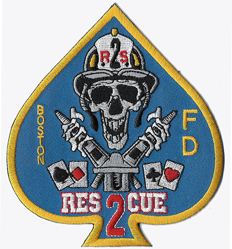 "Boston Rescue 2 ""Spade"" Fire Patch"