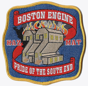 Boston Engine 22 Pride of the Southend Haz Mat Fire Patch