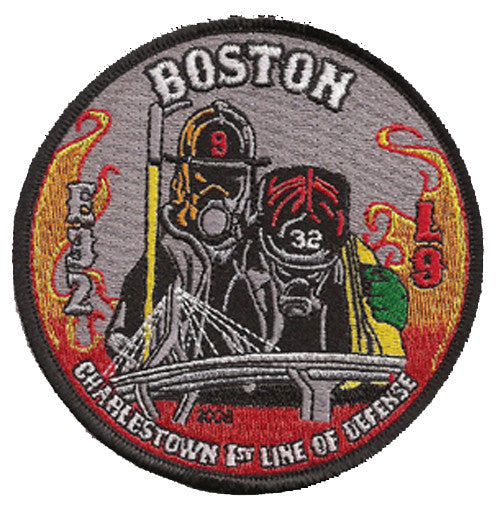 Boston E32 L9 Charlestown Patch