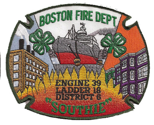 Boston Fire Department  E39 L18 D6 Patch